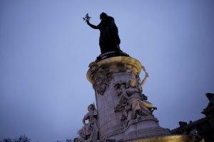 La manifestation aujourd'hui pour Charlie, place de la République.